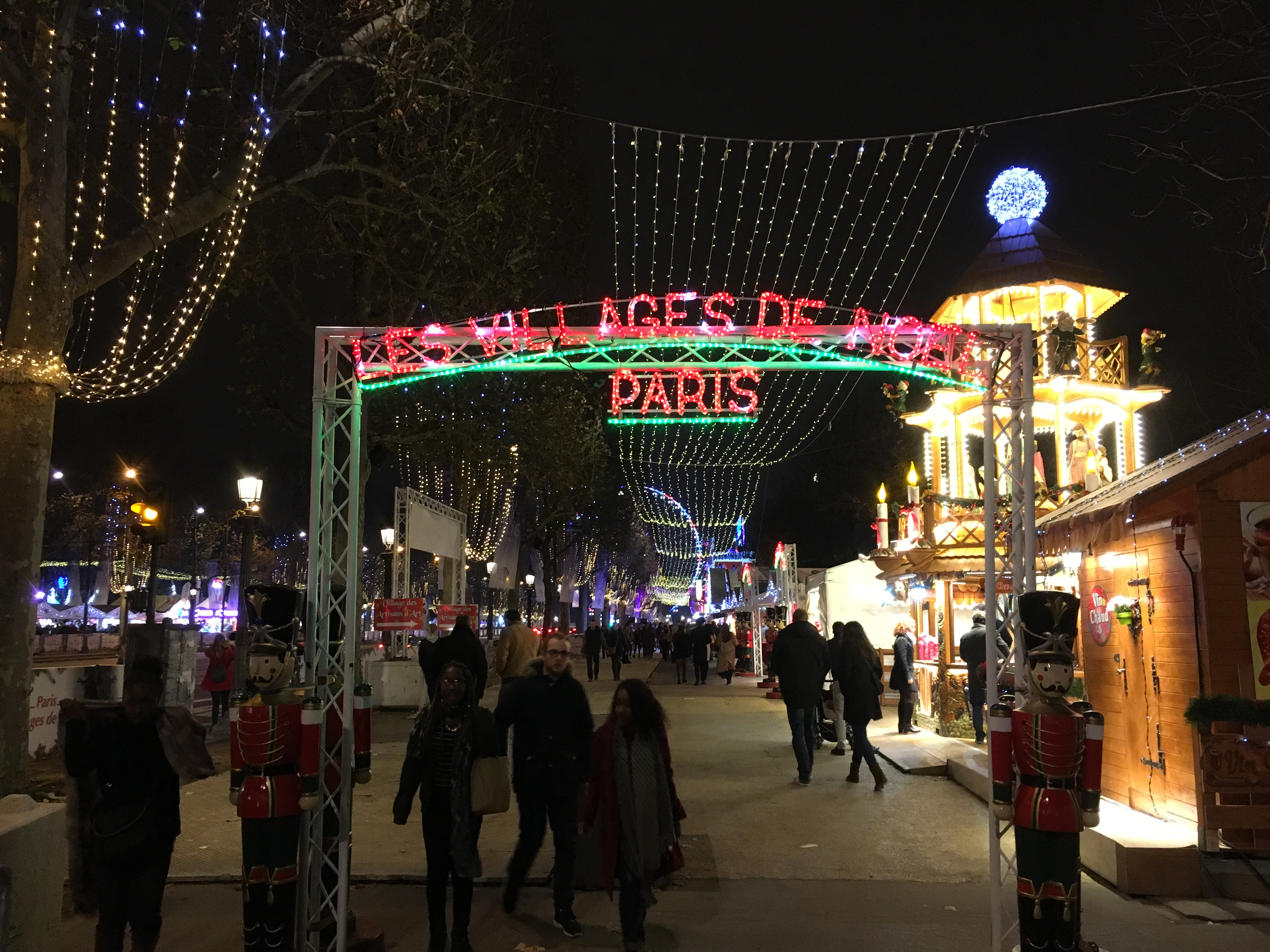 Christmas Markets Champs Elysee 2