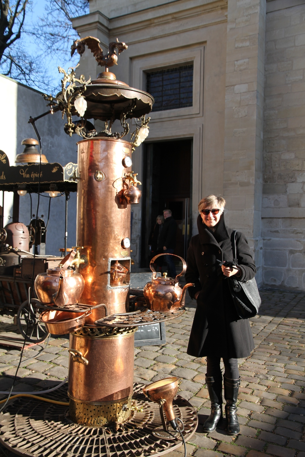 Montmartre copper contraption 2